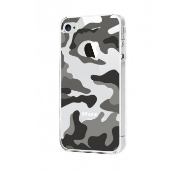 HOUSSE COQUE ETUI PROTECTION ★ MOXIE ARMY ★★ IPHONE 5 5S ★★ CRYSTAL BUMPER ARMEE