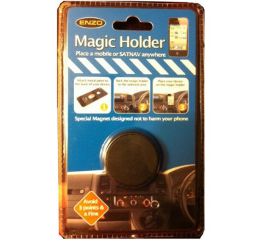 SUPER SUPPORT UNIVERSEL VOITURE ★ MAGIC HOLDER ★ GALAXY S4 S5 IPHONE ★ PASTILLE