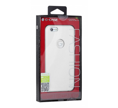 HOUSSE ETUI COQUE ★★  G-CASE NOBLE SERIES CUIR PU ★ IPHONE 6 4.7 ★ BLANC WHITE