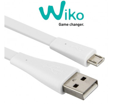 ORIGINAL WIKO ★ CABLE PLAT MICRO USB CHARGE SYNCHRO ★ TOUS LES WIKO
