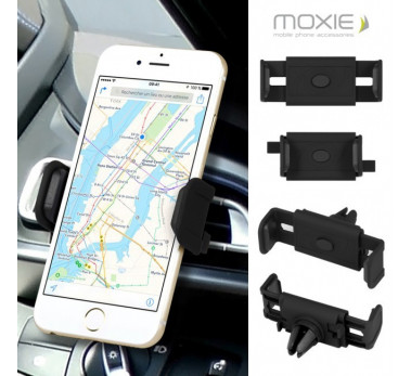 SUPPORT VOITURE AIR KLIP ★★ MOXIE ORIGINAL ★★ GRILLE AERATION VENTILATION