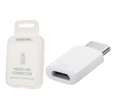 ORIGINAL SAMSUNG EE-GN930BW ★ ADAPTATEUR TYPE-C  VERS MICRO USB ★ BLISTER