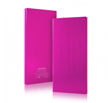 BATTERIE EXTERNE ★★ UNIVERSEL 2000mAh ★★ POWER BANK CHARGER ALU ROSE