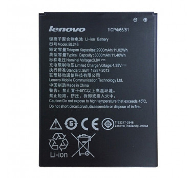 BATTERIE ORIGINE NEUVE ★★ LENOVO LEMON K3 NOTE BL243 K50-T5 A7000