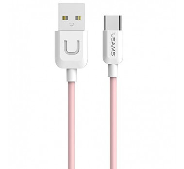 CABLE USB TYPE C USAMS U-TURN SERIES US-SJ099 ROSE PINK