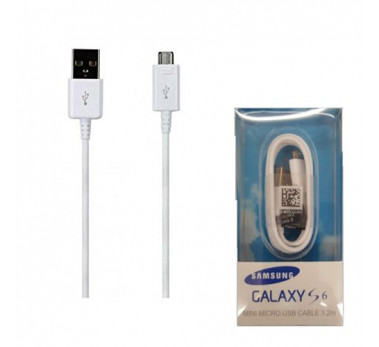 CABLE MICRO USB ★ CABLE 1.2 METRE DATA USB ★ SAMSUNG EP-DG925UWE BLISTER