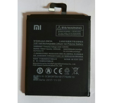 BATTERIE ORIGINALE ★★ OFFICIEL XIAOMI MI NOTE 3 - BM3A (Fabrication 2017)