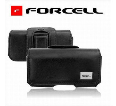 ETUI HOUSSE CEINTURE LUXE Noir ★★ SAMSUNG GALAXY S4 I9500 I9505 ★★ CUIR FORCELL