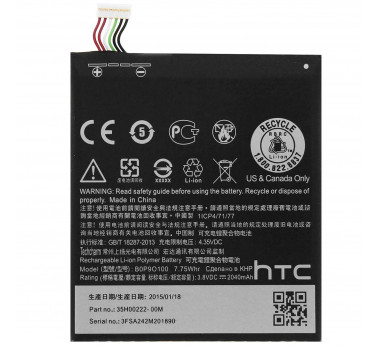 BATTERIE ORIGINALE ★★ HTC DESIRE 610 ★★ ORIGINE B0P9O100