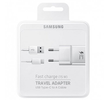 CHARGEUR SECTEUR RAPIDE + CABLE USB-C EP-TA20EWE ★ NEUF SOUS BLISTER ★ BLANC