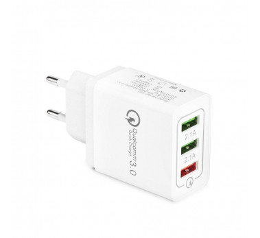 BLOC PRISE 3 X USB SUPER CHARGEUR 5A QUALCOMM Quick Charge 3.0 - AR-QC-032