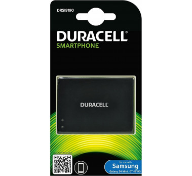 BATTERIE DURACELL NFC  REF DRSI9190 Norme CE 1900mAh 3.8V pour SAMSUNG GALAXY S4 MINI