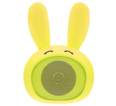 MINI ENCEINTE BLUETOOTH ★ CUTTY by MOB MB-CT-01 ★ DESIGN LAPIN JAUNE