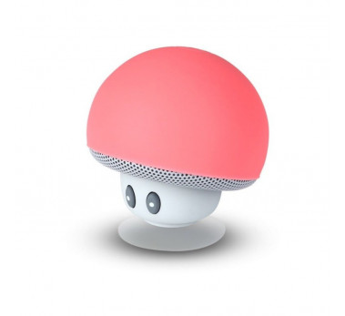 ENCEINTE BLUETOOTH KIT MAINS LIBRES UNIVERSEL CHAMPIGNON de MOB - ROUGE WATERPROOF
