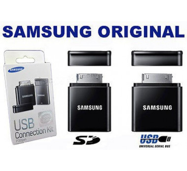 KIT ADAPTATEUR ORIGINAL SAMSUNG USB & SD ★ GALAXY TAB 2 10.1 P5110 ★ 1PLRBEGSTD