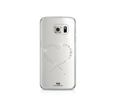 COQUE CRYSTAL FROM SWAROVSKY ★ WHITE DIAMONDS ★ SAMSUNG GALAXY S6 ★ TRANSPARENT